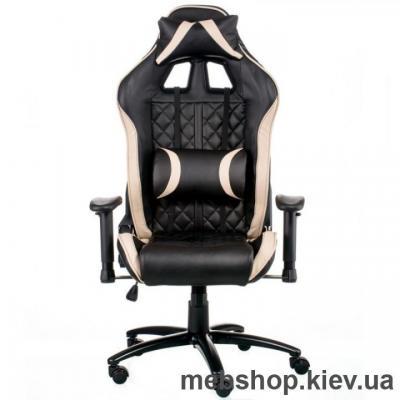 Кресло Special4You ExtremeRace Black/Cream (E5654)