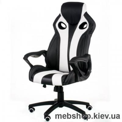 Купить Кресло Special4You Gish Black/White (E5524). Фото