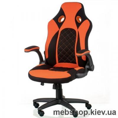 Купить Кресло Special4You Kroz Black/Red (E5531). Фото