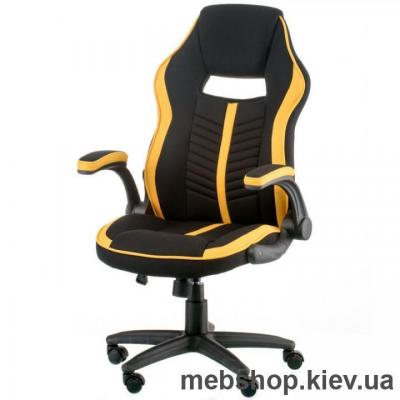 Крісло Special4You Prime black/yellow (E5548)