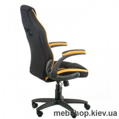 Кресло Special4You Prime black/yellow (E5548)