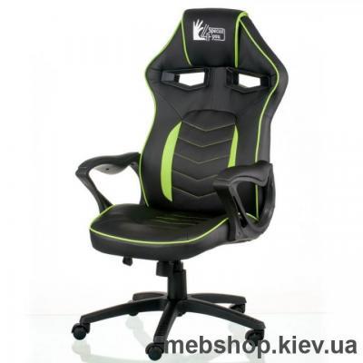 Купить Кресло Special4You Nitro Black/Green (E5562). Фото