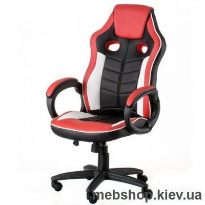 Купить Кресло Special4You Blade Black/White/Red (E5609). Фото