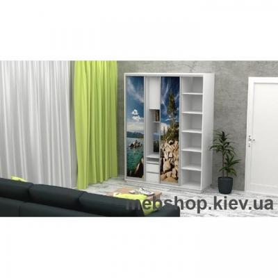 Шкаф-купе FLASHNIKA Слайд 1 (двери фотопечать)