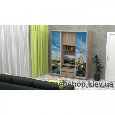 Купить Шкаф-купе FLASHNIKA Слайд 5 (двери фотопечать). Фото