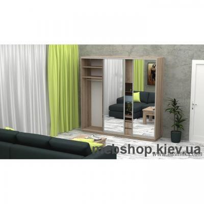 Шкаф-купе FLASHNIKA Слайд 7 (двери зеркало)