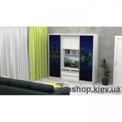 Купить Шкаф-купе FLASHNIKA Слайд 8 (двери фотопечать). Фото