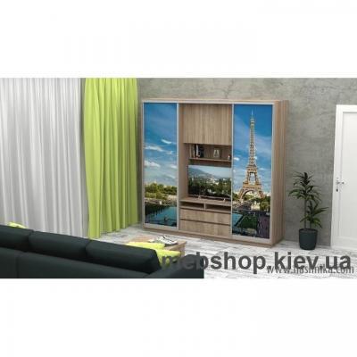 Купить Шкаф-купе FLASHNIKA Слайд 10 (двери фотопечать). Фото