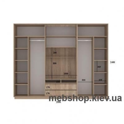 Шкаф-купе FLASHNIKA Слайд 13 (двери фотопечать)