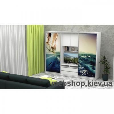 Купить Шкаф-купе FLASHNIKA Слайд 13 (двери фотопечать). Фото