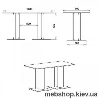 Кухонный тол Компанит КС-8