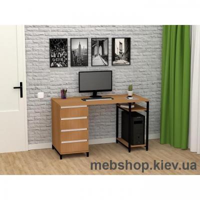 Стіл комп'ютерний ЛОФТ СКЛ-6