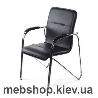 Кресло Самба темный/коньяк