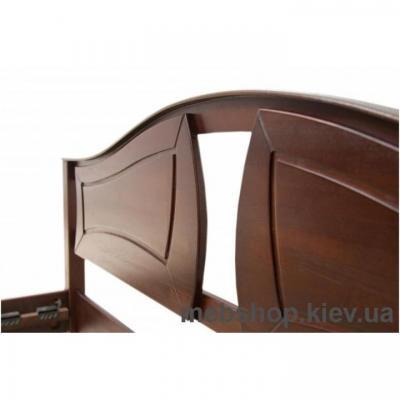 Кровать Марта (Буковый щит) Микс Мебель