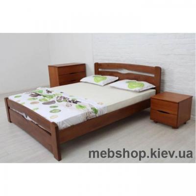 Купить Кровать Каролина (з изножья) Микс Мебель. Фото