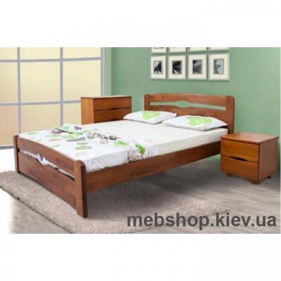 Кровать Каролина (з изножья) Микс Мебель