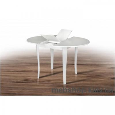 Стол обеденный Дукат (Белый) Микс Мебель