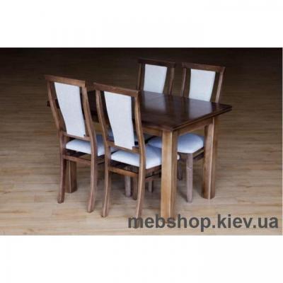 Стол обеденный Петрос (орех) Микс Мебель