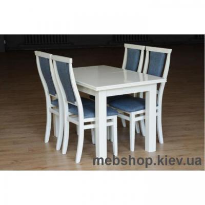 Стол обеденный Петрос (слон.кость) Микс Мебель