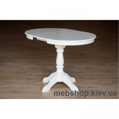 Стол обеденный Чумак-2 (слон.кость) Микс Мебель