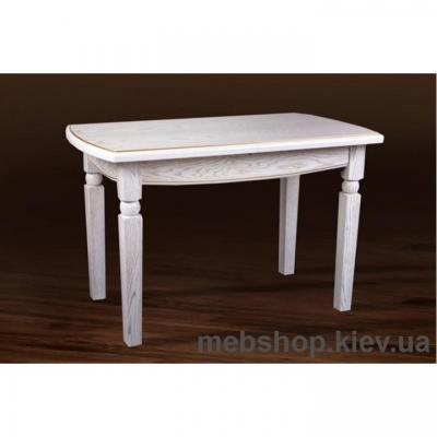 Стол обеденный Кайман (белый/патина) Микс Мебель