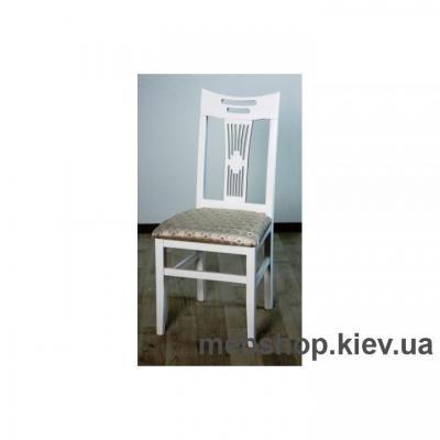 Купить Стул Юля (твёрдая спинка, белый) Микс Мебель. Фото