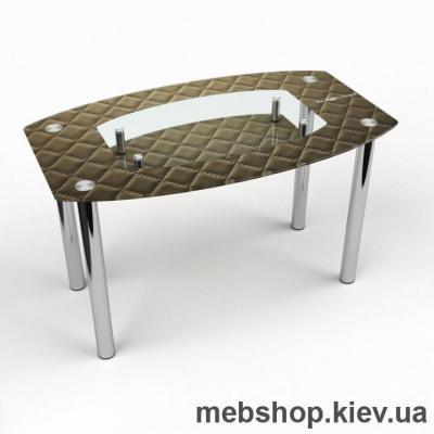 Обеденный стол Бочка с полкой