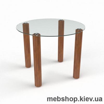 Обеденный стол Круглый прозрачный