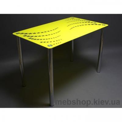 Купить Обеденный стол Цветочная волна. Фото