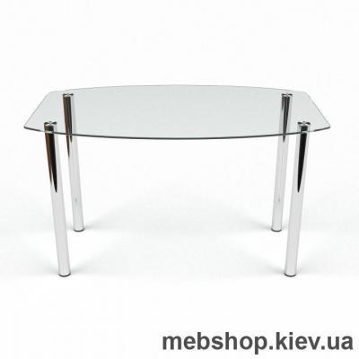 Купить Обеденный стол Бочка прозрачный. Фото