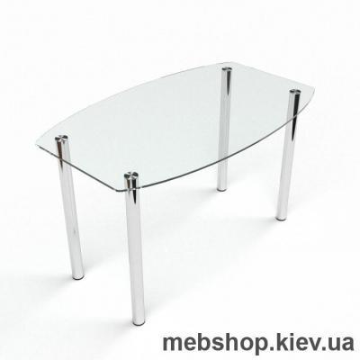 Обеденный стол Бочка прозрачный