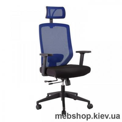 Купить Кресло офисное Office4You JOY black-blue. Фото