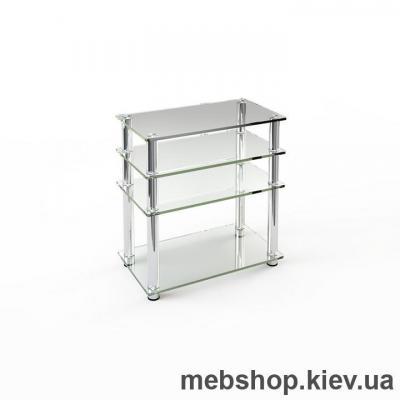 Купить Тумба под ТВ из стекла ESCADO TV-009 прозрачный. Фото