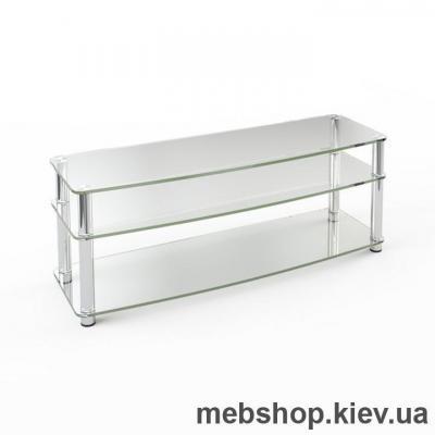 Купить Тумба под ТВ из стекла ESCADO TV-011 прозрачный. Фото
