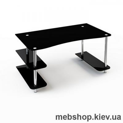 Купить Офисный стол из стекла ESCADO С-1 прозрачный. Фото