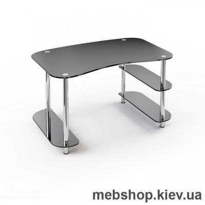 Купить Офисный стол из стекла ESCADO С-2 прозрачный. Фото