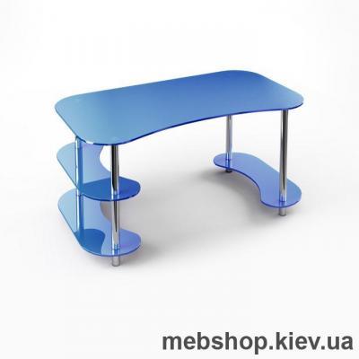Офисный стол из стекла ESCADO С-3 прозрачный