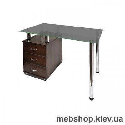Офисный стол из ДСП и стекла ESCADO КС-1 матовый