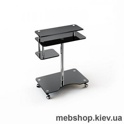 Купить Стол компьютерный стеклянный ESCADO Р-1 прозрачный. Фото