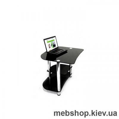 Купить Стол компьютерный стеклянный ESCADO Р-2 прозрачный. Фото