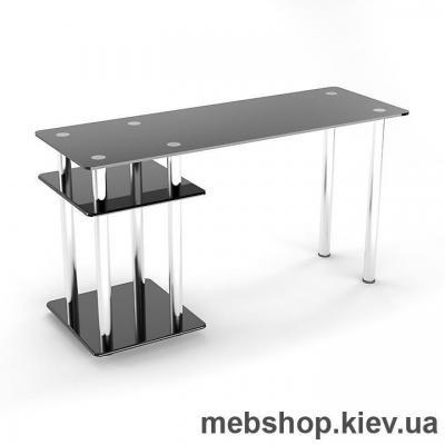 Купить Стол компьютерный стеклянный ESCADO Р-5 прозрачный. Фото