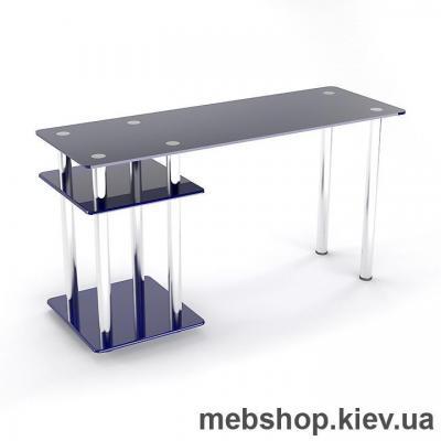 Стол компьютерный стеклянный ESCADO Р-5 прозрачный