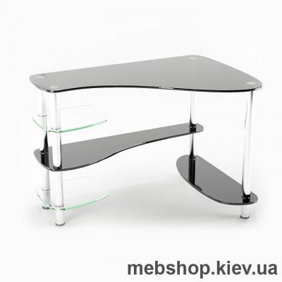 Стол компьютерный стеклянный ESCADO Р-7 прозрачный