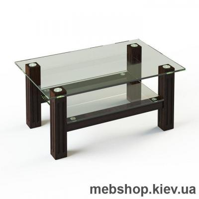 Журнальный стол ESCADO JTW 001 верх прозрачный; низ нанесение рисунка, узора, фотопечати или заливка цветом
