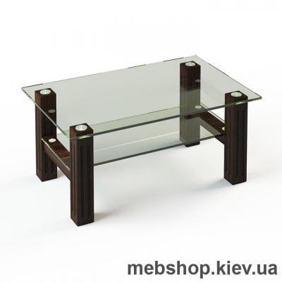 Журнальный стол ESCADO JTW 002 верх прозрачный; низ нанесение рисунка, узора, фотопечати или заливка цветом