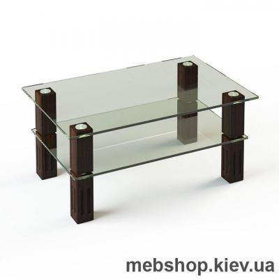 Купить Журнальный стол ESCADO JTW 003 верх прозрачный; низ нанесение рисунка, узора, фотопечати или заливка цветом. Фото