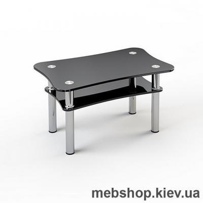 Купить Журнальный стол стеклянный ESCADO JTI 003 верх прозрачный; низ нанесение рисунка, узора, фотопечати или заливка цветом. Фото