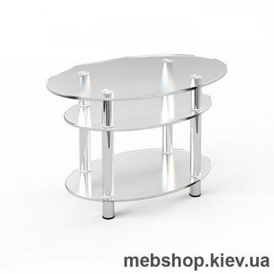 Купить Журнальный стол стеклянный ESCADO JTO 004 верх нанесение рисунка, узора, фотопечати или заливка цветом; низ прозрачный. Фото