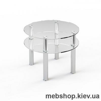 Купить Журнальный стол стеклянный ESCADO JTR 003 нанесение рисунка, узора, фотопечати или заливка цветом столешницы и полки. Фото