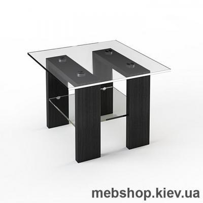 Купить Журнальный стол стеклянный ESCADO JTS 003 верх нанесение рисунка, узора, фотопечати или заливка цветом; низ матовый. Фото